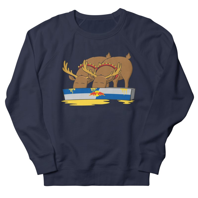 Santa's Secret Men's Sweatshirt by Erwin's Artist Shop