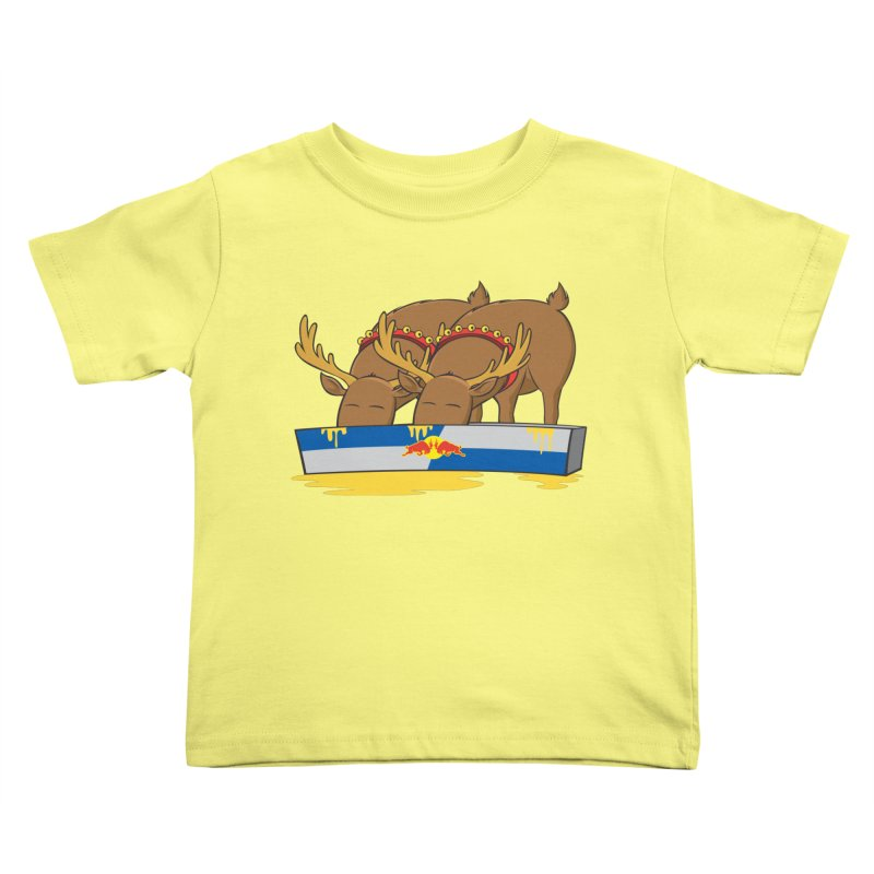 Santa's Secret Kids Toddler T-Shirt by Erwin's Artist Shop
