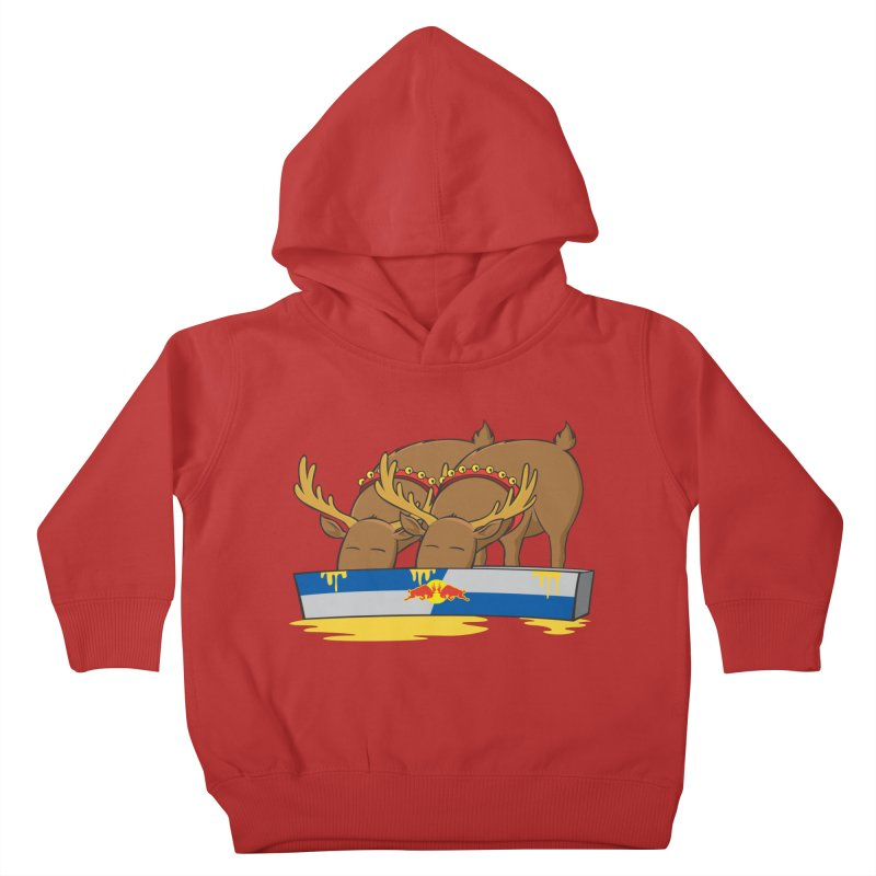 Santa's Secret Kids Toddler Pullover Hoody by Erwin's Artist Shop