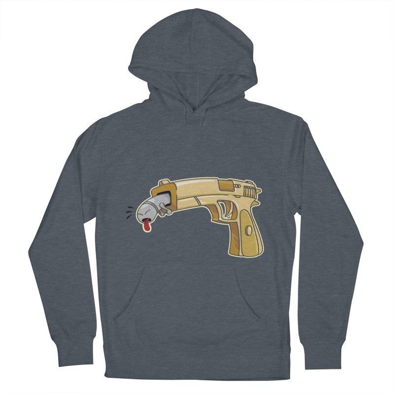 Guns stink! Women's Pullover Hoody by Erwin's Artist Shop