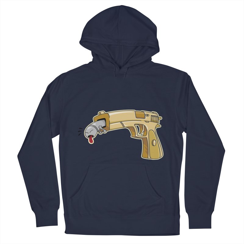 Guns stink! Women's Pullover Hoody by Erwin's Artist Shop