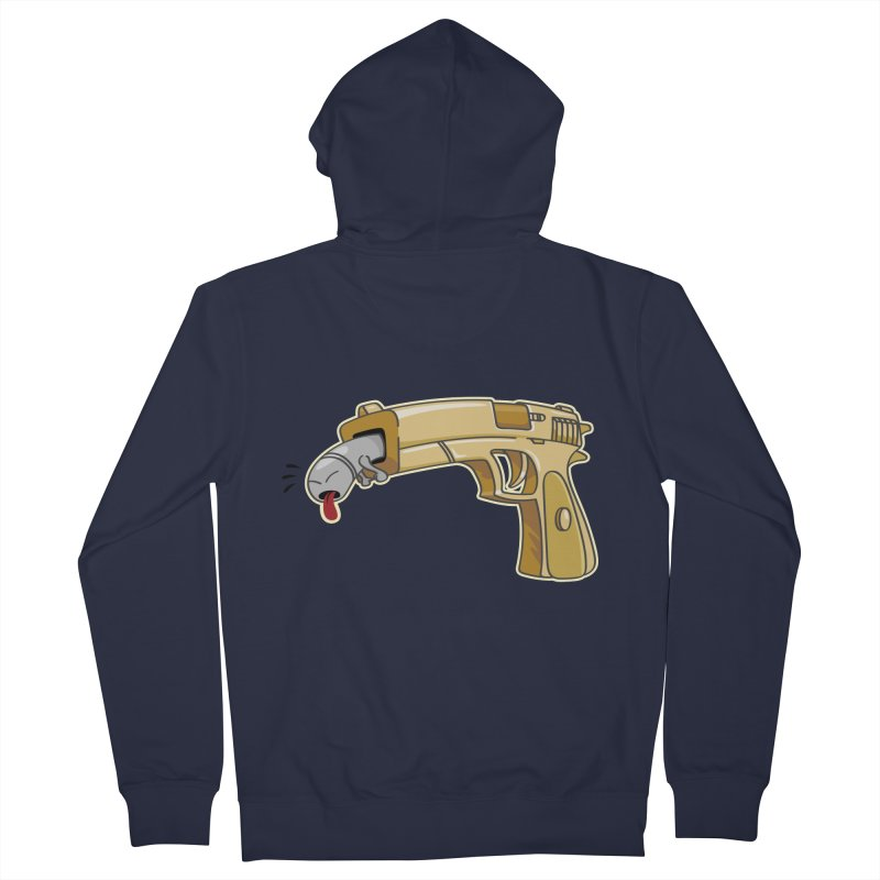 Guns stink! Men's Zip-Up Hoody by Erwin's Artist Shop