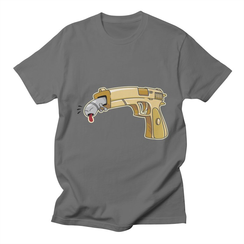 Guns stink! Men's T-shirt by Erwin's Artist Shop