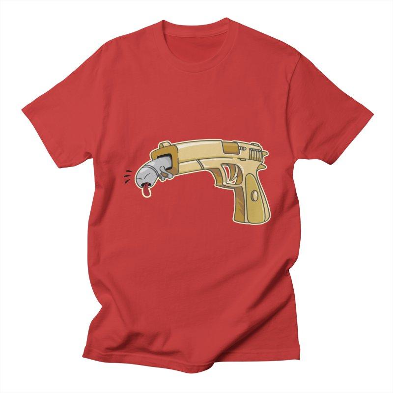 Guns stink! Men's T-shirt by Erwin's Artist Shop