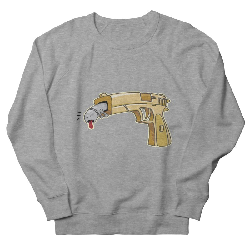 Guns stink! Women's French Terry Sweatshirt by Erwin's Artist Shop