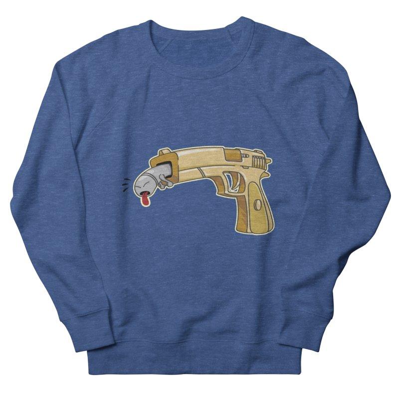 Guns stink! Men's French Terry Sweatshirt by Erwin's Artist Shop