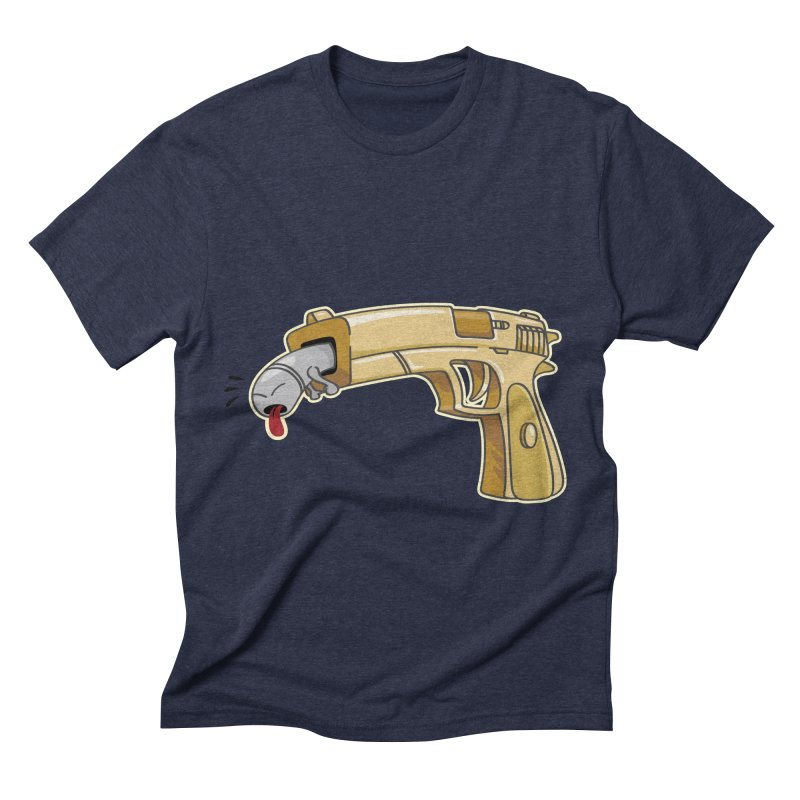 Guns stink! Men's Triblend T-shirt by Erwin's Artist Shop