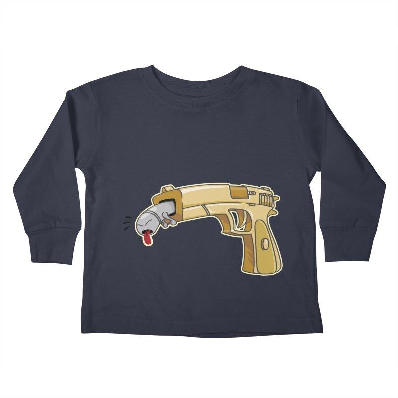 Guns stink! Kids Toddler Longsleeve T-Shirt by Erwin's Artist Shop
