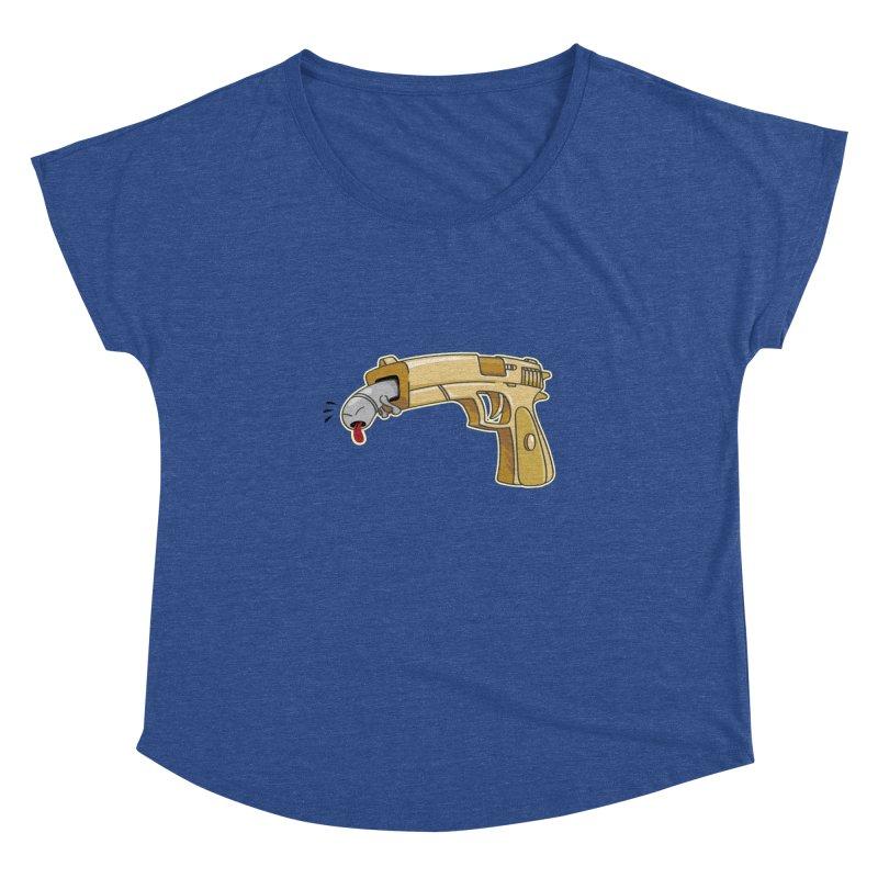 Guns stink! Women's Dolman by Erwin's Artist Shop