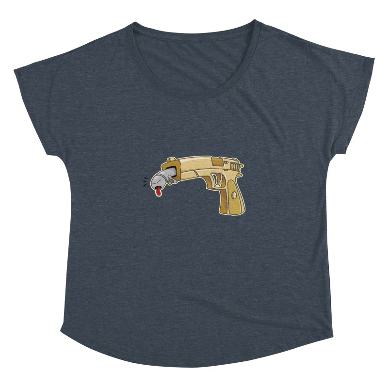 Guns stink! Women's Dolman Scoop Neck by Erwin's Artist Shop
