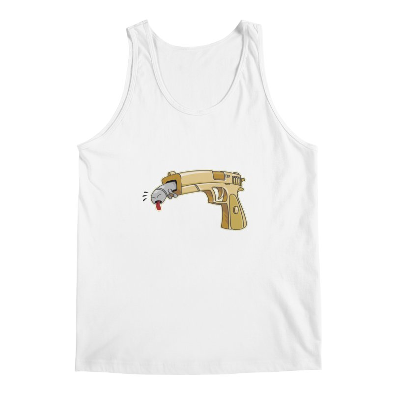 Guns stink! Men's Tank by Erwin's Artist Shop