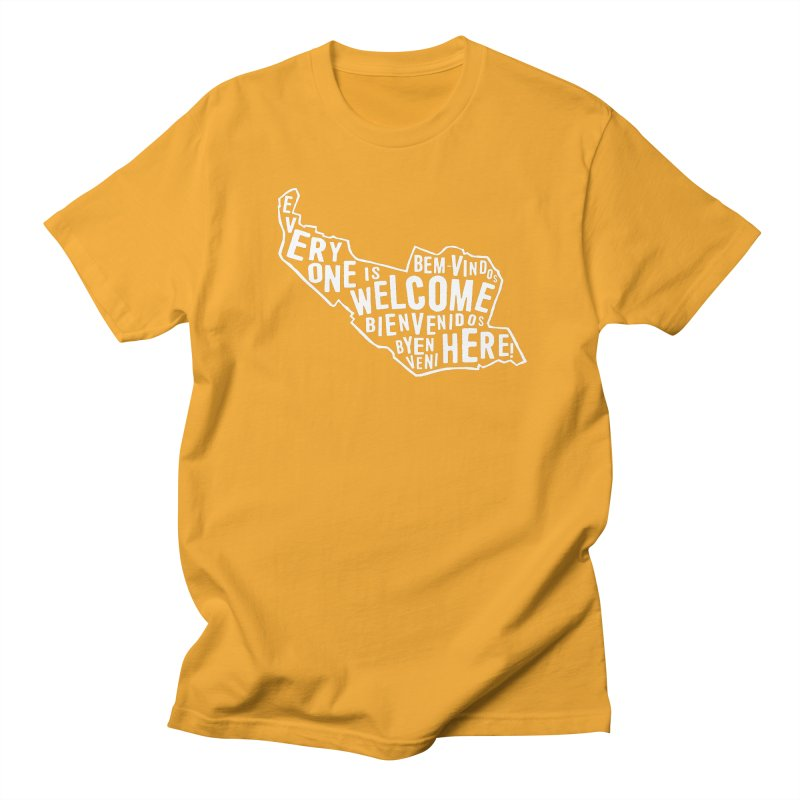 Everyone is Welcome Here - Logo White Women's T-Shirt by ESCS PTA's Shop