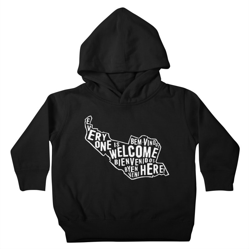 Everyone is Welcome Here - Logo White Kids Toddler Pullover Hoody by ESCS PTA's Shop
