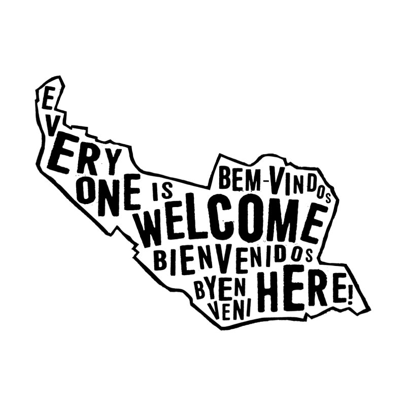 Everyone Is Welcome Here - Logo Black Kids Baby Bodysuit by ESCS PTA's Shop