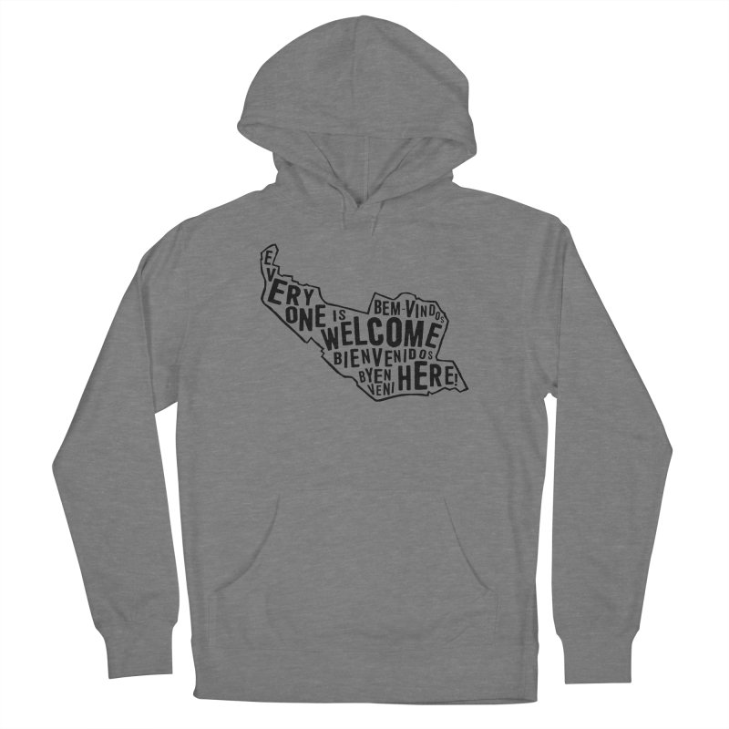 Everyone Is Welcome Here - Logo Black Men's Pullover Hoody by ESCS PTA's Shop