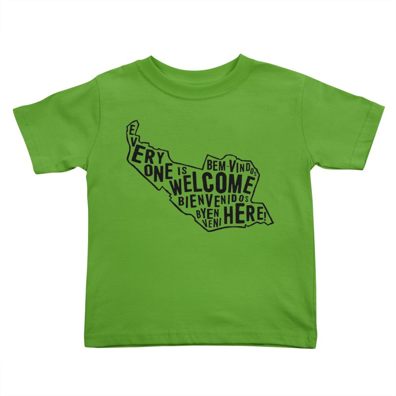 Everyone Is Welcome Here - Logo Black Kids Toddler T-Shirt by ESCS PTA's Shop