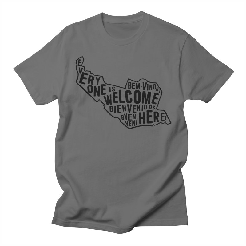 Everyone Is Welcome Here - Logo Black Men's T-Shirt by ESCS PTA's Shop