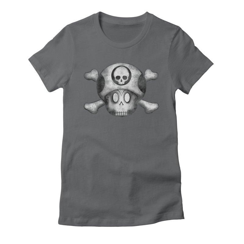 1DOWN Women's Fitted T-Shirt by EskoArtz's Artist Shop