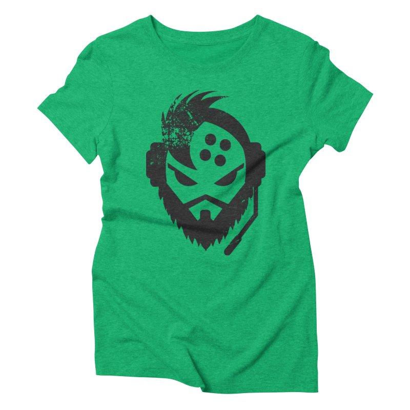 Glorious Gamer Women's Triblend T-shirt by EskoArtz's Artist Shop