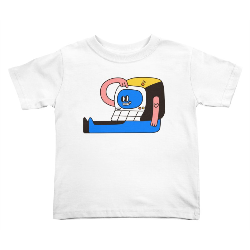 PC Kids Toddler T-Shirt by esmile's Artist Shop