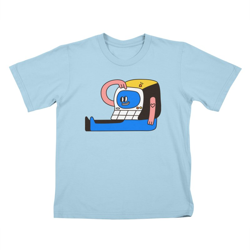PC Kids T-Shirt by esmile's Artist Shop