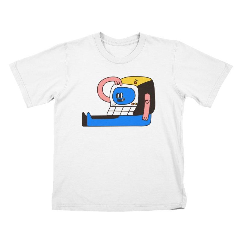 PC Kids T-Shirt by esmile's Artist Shop