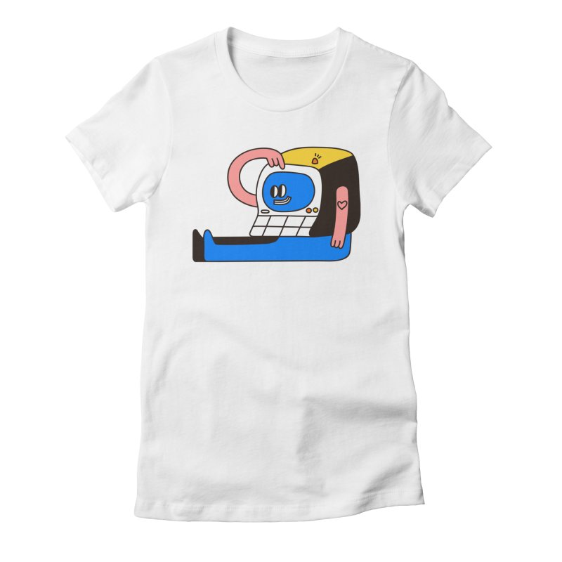 PC Women's T-Shirt by esmile's Artist Shop