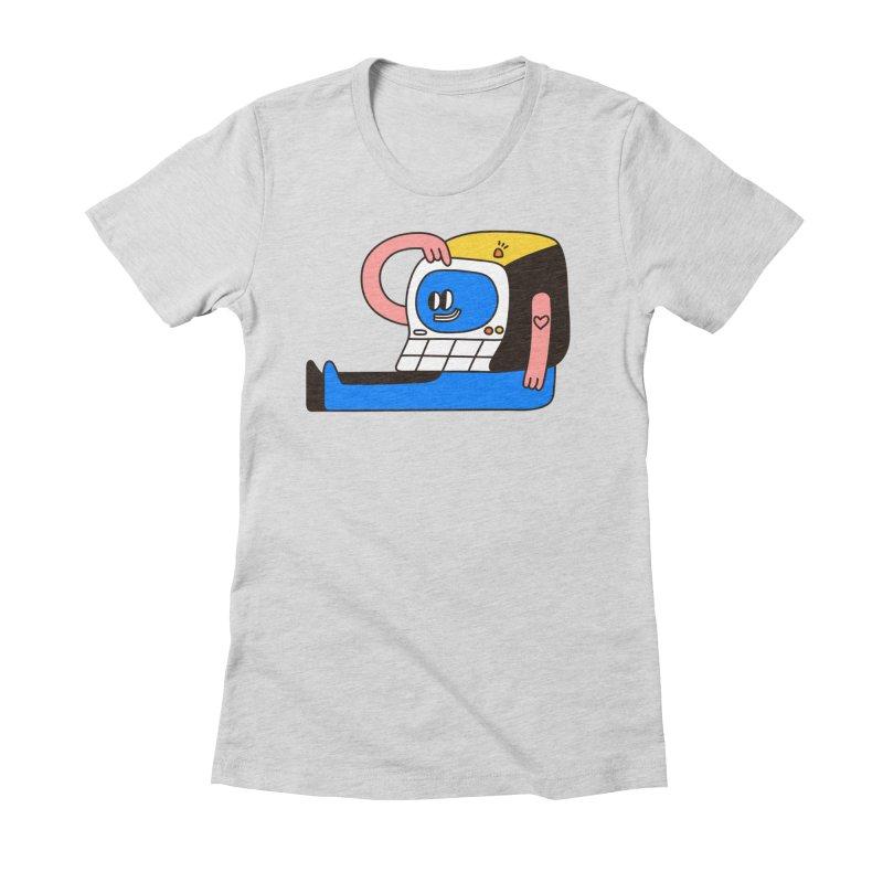PC Women's T-Shirt by esmile's Artist Shop