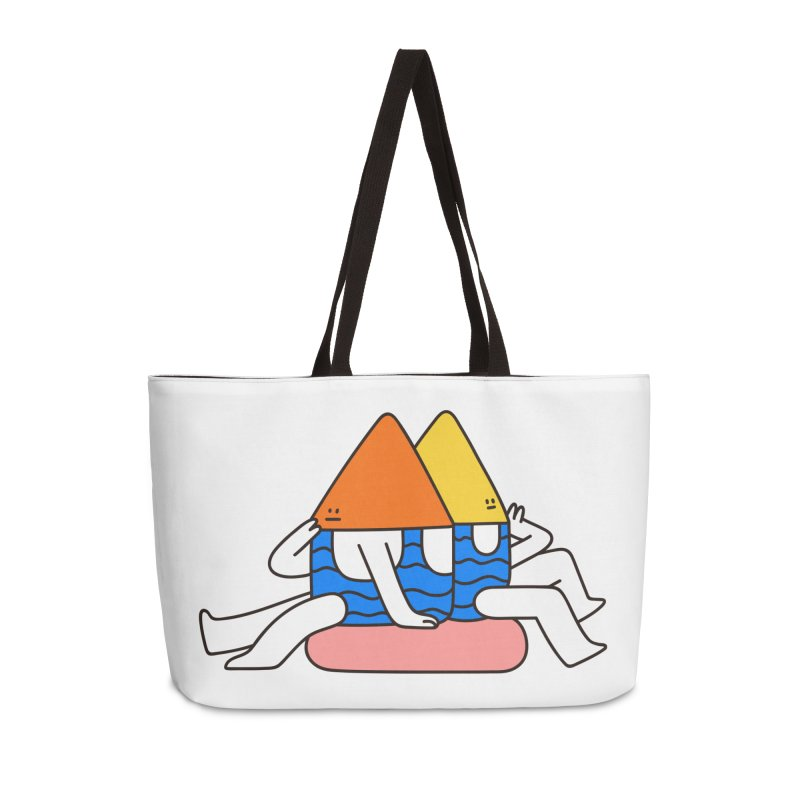 I Trulli Accessories Weekender Bag Bag by esmile's Artist Shop