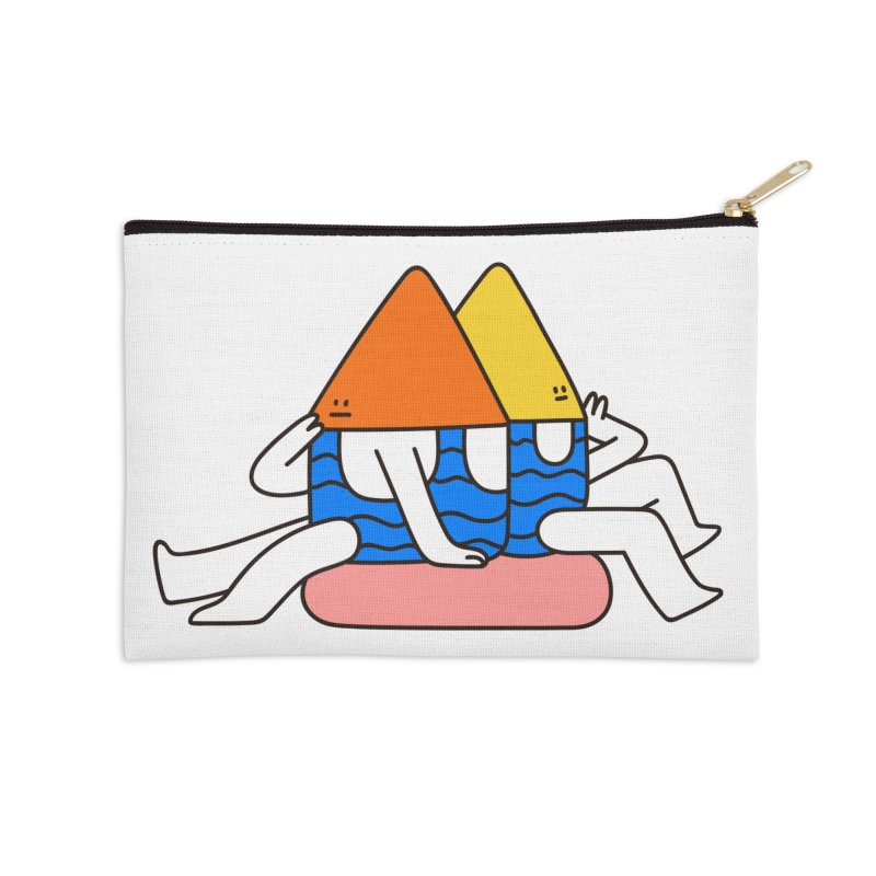 I Trulli Accessories Zip Pouch by esmile's Artist Shop