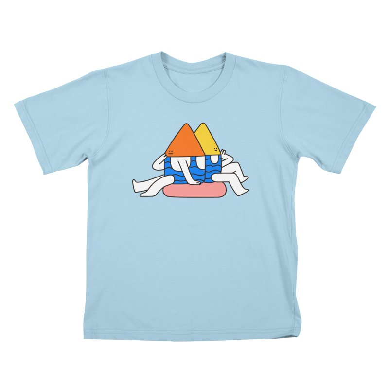 I Trulli Kids T-Shirt by esmile's Artist Shop