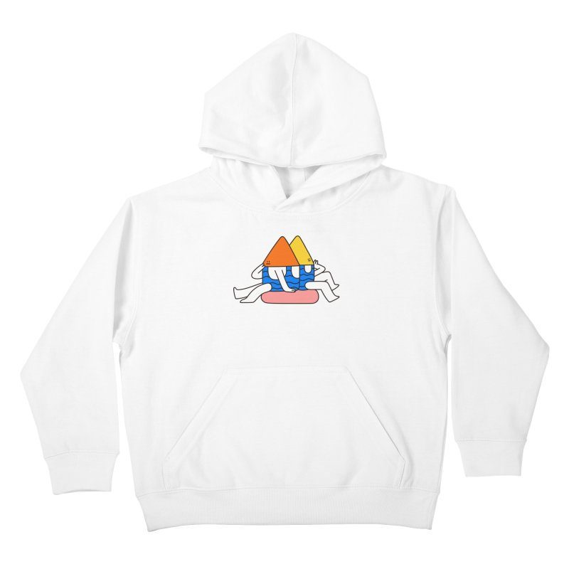 I Trulli Kids Pullover Hoody by esmile's Artist Shop