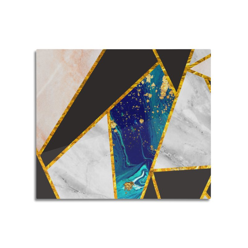 Abstract Marble Pattern Home Mounted Acrylic Print by esmlennon's Artist Shop