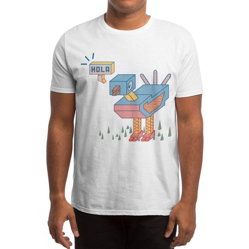 Hola Men's T-Shirt by Hola ! Welcome to esnobodidi world