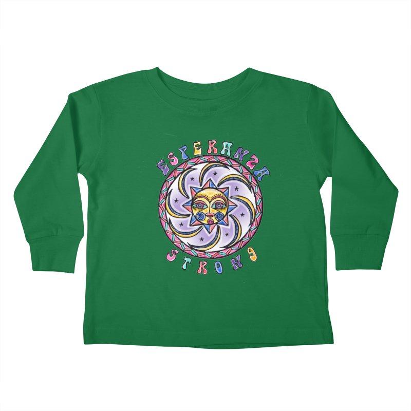 Nikki's Esperanza Strong Kids Toddler Longsleeve T-Shirt by Esperanza Community's Artist Shop