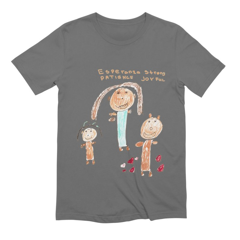 The Art Picture by Tabitha Men's T-Shirt by Esperanza Community's Artist Shop