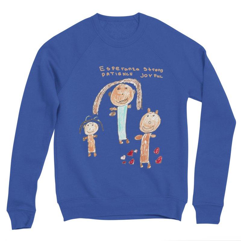 The Art Picture by Tabitha Men's Sweatshirt by Esperanza Community's Artist Shop