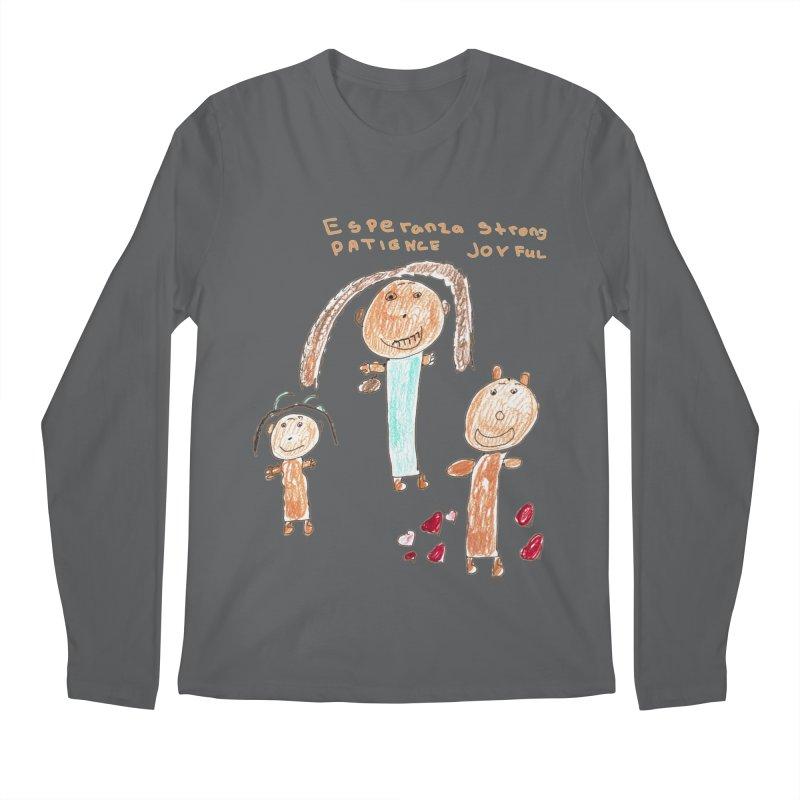 The Art Picture by Tabitha Men's Longsleeve T-Shirt by Esperanza Community's Artist Shop