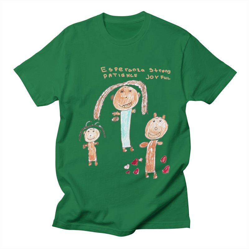 The Art Picture by Tabitha Men's T-Shirt by Esperanza Community's Artist Shop