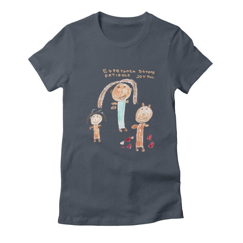 The Art Picture by Tabitha Women's T-Shirt by Esperanza Community's Artist Shop