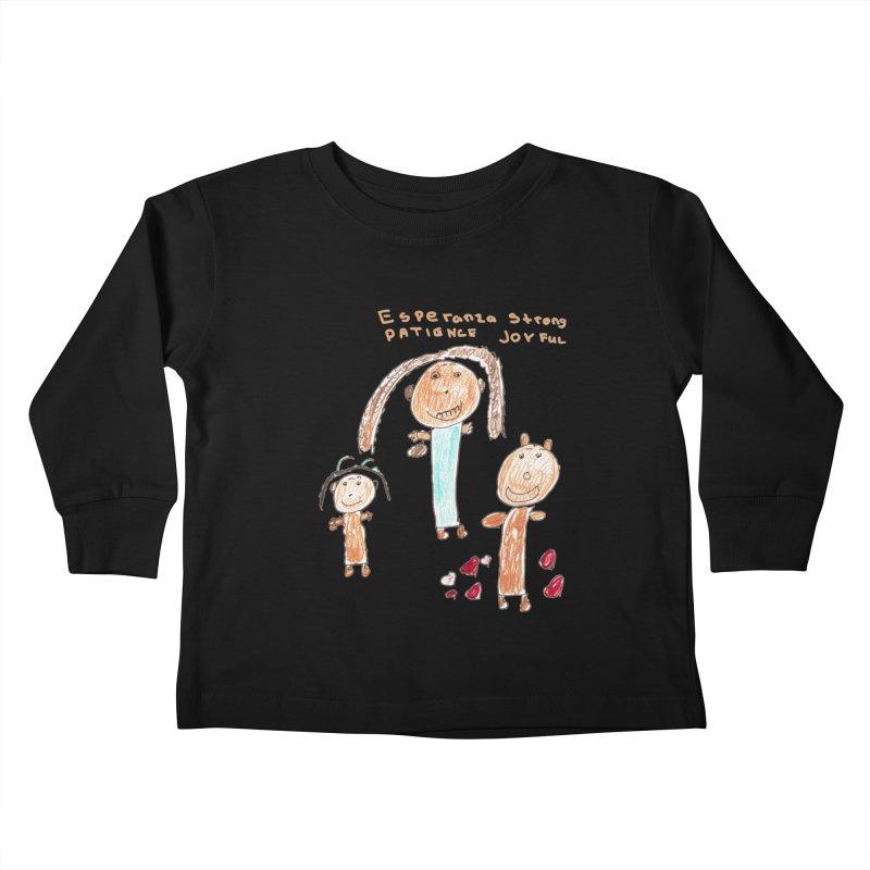 The Art Picture by Tabitha Kids Toddler Longsleeve T-Shirt by Esperanza Community's Artist Shop