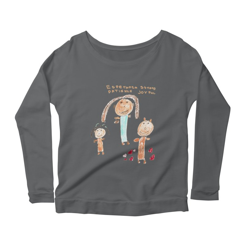 The Art Picture by Tabitha Women's Longsleeve T-Shirt by Esperanza Community's Artist Shop