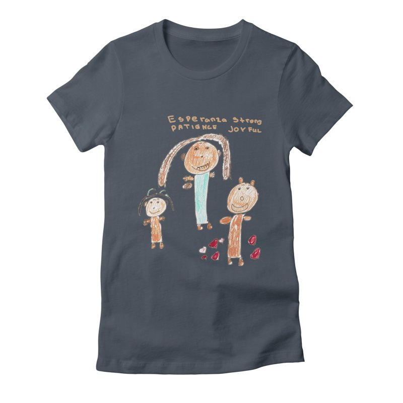 The Art Picture by Tabitha Women's T-Shirt by Esperanza Community's Artist Shop