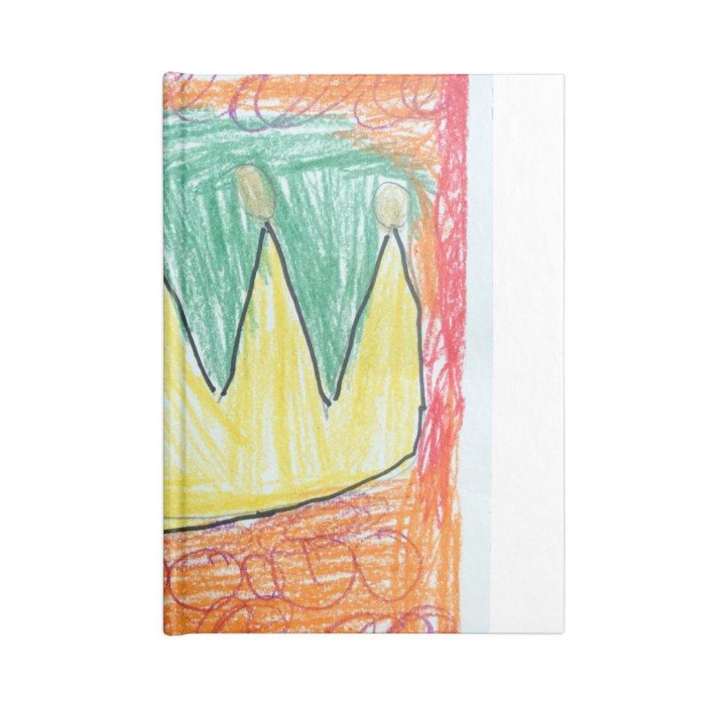 King (Crown) by Juan Accessories Notebook by Esperanza Community's Artist Shop