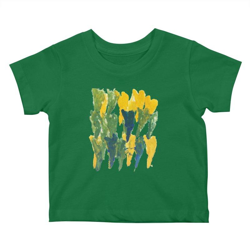 Hearts by Jason Kids Baby T-Shirt by Esperanza Community's Artist Shop