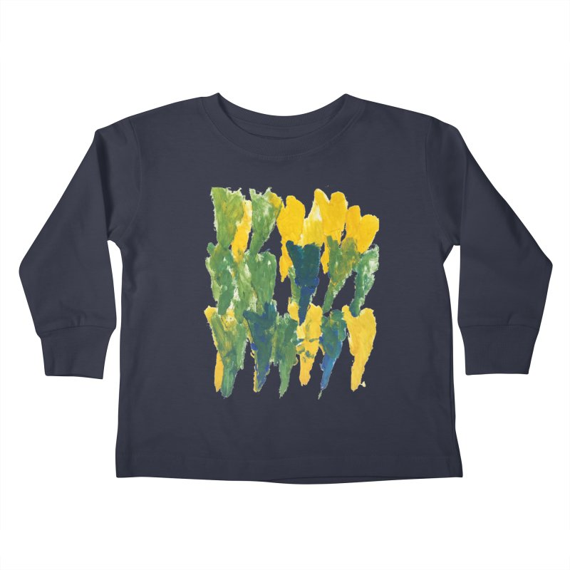 Hearts by Jason Kids Toddler Longsleeve T-Shirt by Esperanza Community's Artist Shop