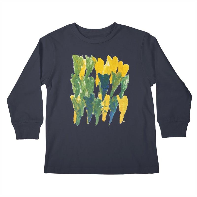 Hearts by Jason Kids Longsleeve T-Shirt by Esperanza Community's Artist Shop