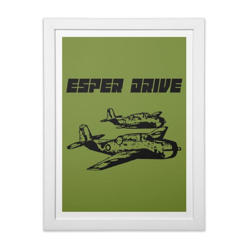 Esper Drive - Aero Home Framed Fine Art Print by Primitive Synapse's Artist Shop