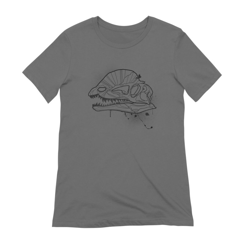 Dilo Skull - BLACK Women's T-Shirt by EP Designs's Designs n Such