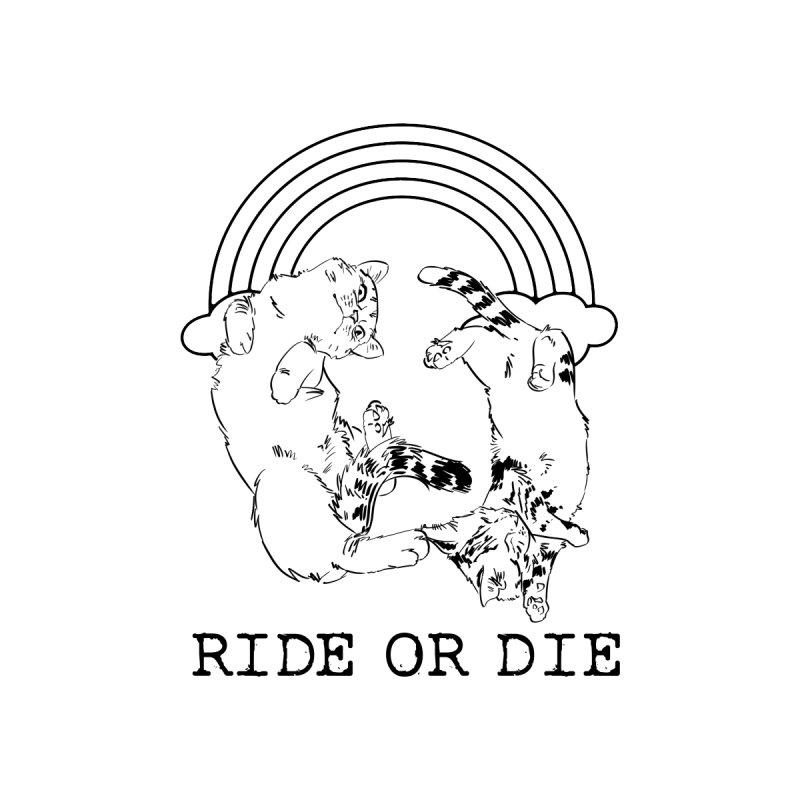 Ride or Die - BLACK Women's Tank by EP Designs's Designs n Such